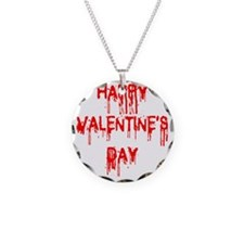 Happy Valentines Day 3D Necklace