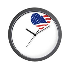I LOVE OKLAHOMA - WHITE Wall Clock