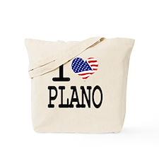 I LOVE PLANO Tote Bag