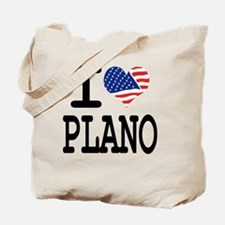 I LOVE PLANO Tote Bag