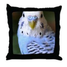 Budgies 013 Throw Pillow
