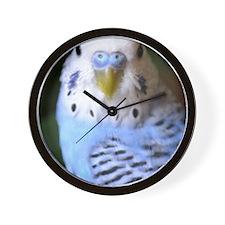 Budgies 013 Wall Clock