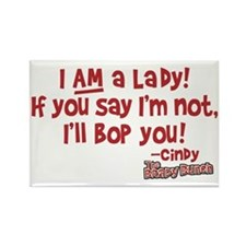 cindy-lady Rectangle Magnet