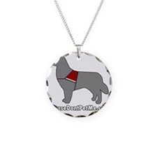PDPM Dog (Grey) Necklace