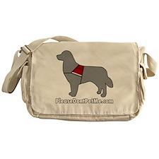 PDPM Dog (Grey) Messenger Bag