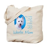 Animals west hioghland terrior Canvas Totes