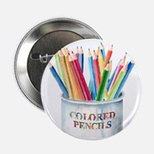 "Colored Pencils 2.25"" Button"