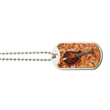POSTCARD - Gibson Mandola in Fall Leaves Dog Tags