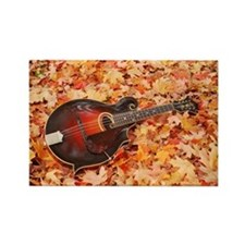POSTCARD - Gibson Mandola in Fall Rectangle Magnet