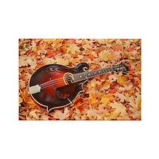 POSTCARD - Gibson Mandola in Fall Rectangle Magnet