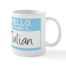 HelloMyNameIs...Julian Mug