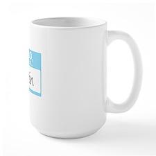 HelloMyNameIs...Justin Mug