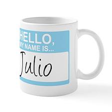 HelloMyNameIs...Julio Small Mug