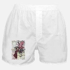 Restless ruby Boxer Shorts