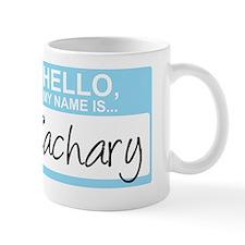 HelloMyNameIs...Zachary Mug