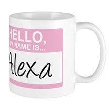 HelloMyNameIs...Alexa Mug
