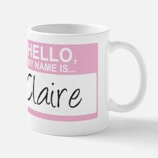 HelloMyNameIs...Claire Mug