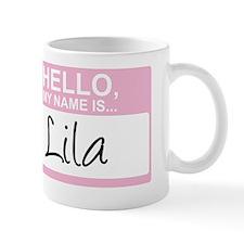 HelloMyNameIs...Lila Mug