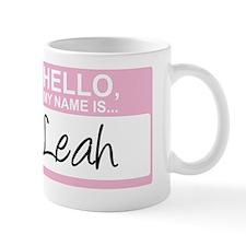 HelloMyNameIs...Leah Mug