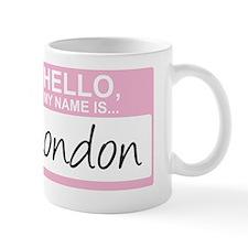 HelloMyNameIs...London Small Mug