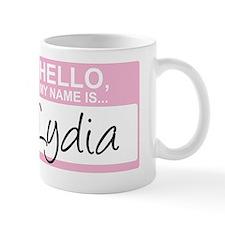 HelloMyNameIs...Lydia Mug