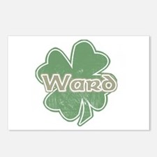 """Shamrock - Ward"" Postcards (Package of 8)"