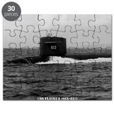 flasher large framed print Puzzle