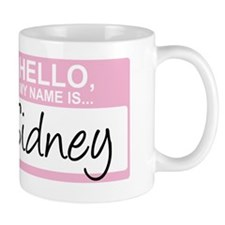 HelloMyNameIs...Sidney Mug