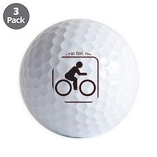 ride_fat_girl Golf Ball
