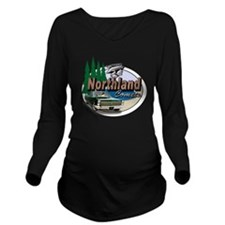 Oval-Northland-Comet Long Sleeve Maternity T-Shirt