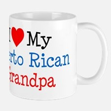 I Love Puerto Rican Grandpa Mug