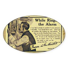 Vintage Ad Decal