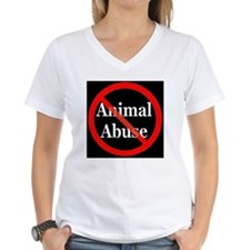 no_animal_abuse_black Shirt