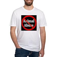no_animal_abuse_black Shirt