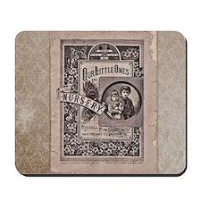 Vintage Book Mousepad
