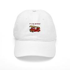 Fire Truck Birthday Baseball Cap