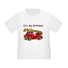 Fire Truck Birthday T