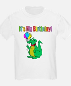 Gator Birthday Kids T-Shirt