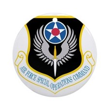 AirForceSpecialOperationsCommand Round Ornament