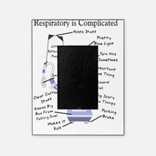 Respiratory is Complicated Picture Frame