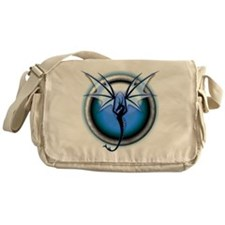 Dragon 03 - Blue Messenger Bag
