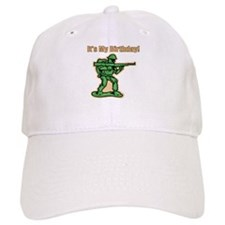 Green Army Men Birthday Baseball Cap