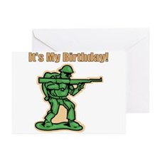 Green Army Men Birthday Party Invitations (Pkg of