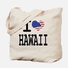 I LOVE HAWAII Tote Bag