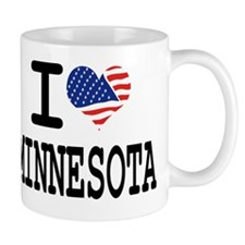 I LOVE MINNESOTA Mug
