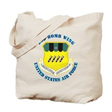 2nd-Bomb-Wing-with-Text Tote Bag