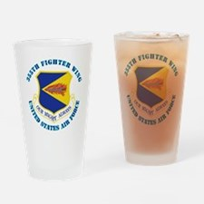 355th-Fighter-Wing-with-Text Drinking Glass
