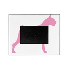 boxer pink 2 Picture Frame