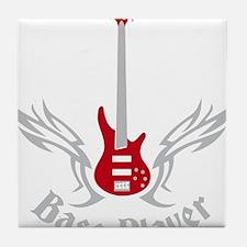 Bass Guitar 07-2011 H 2c Tile Coaster