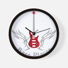 Bass Guitar 07-2011 H 2c Wall Clock